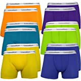 12 Pack Mens Location Boxer Shorts Trunks Gift Underwear Novelty Cotton Boxers