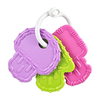 Re-play Teether Keys Fda Approved Bpa Free Recycled Plastics Baby Teething Consumers First Cups, Dishes & Utensils Feeding