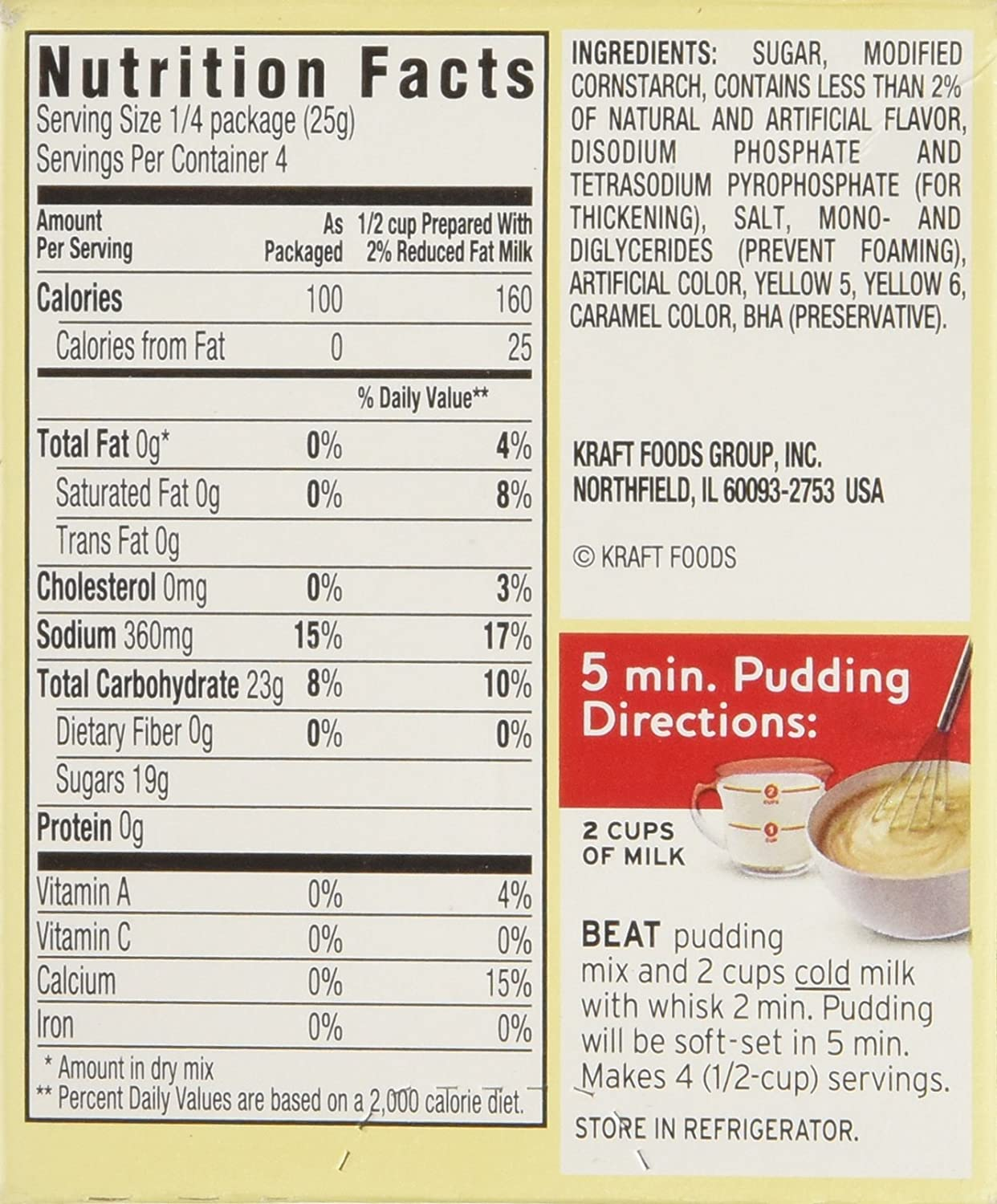 recipe: instant pudding mix directions [3]