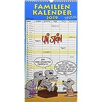 Uli Stein Familienkalender 2019