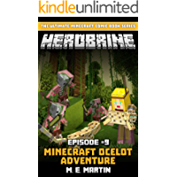 HEROBRINE Episode 9: Minecraft Ocelot Adventure (Herobrine Comic Book Series)