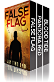 99 Degrees Thriller Boxset: False Flag, Pandora Red, Blood Tide