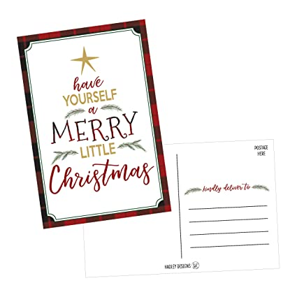 Amazon.com : 50 Tree Holiday Greeting Cards, Cute & Fancy Blank ...