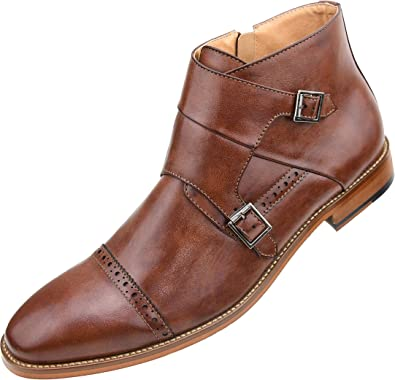 Cap Toe Ankle Boots
