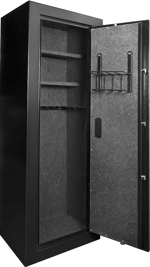 Winbest Barska Large Quick Access Biometric Rifle Gun Safe Cabinet 19 in x 16 in x 57 in