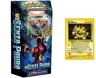 LEONARDO SERVIZI SAS DI Bergamin Catia & C. Pokemon HS Senza Paura mazzo tematico Scontro Crepuscolare (IT) + carta Electabuzz