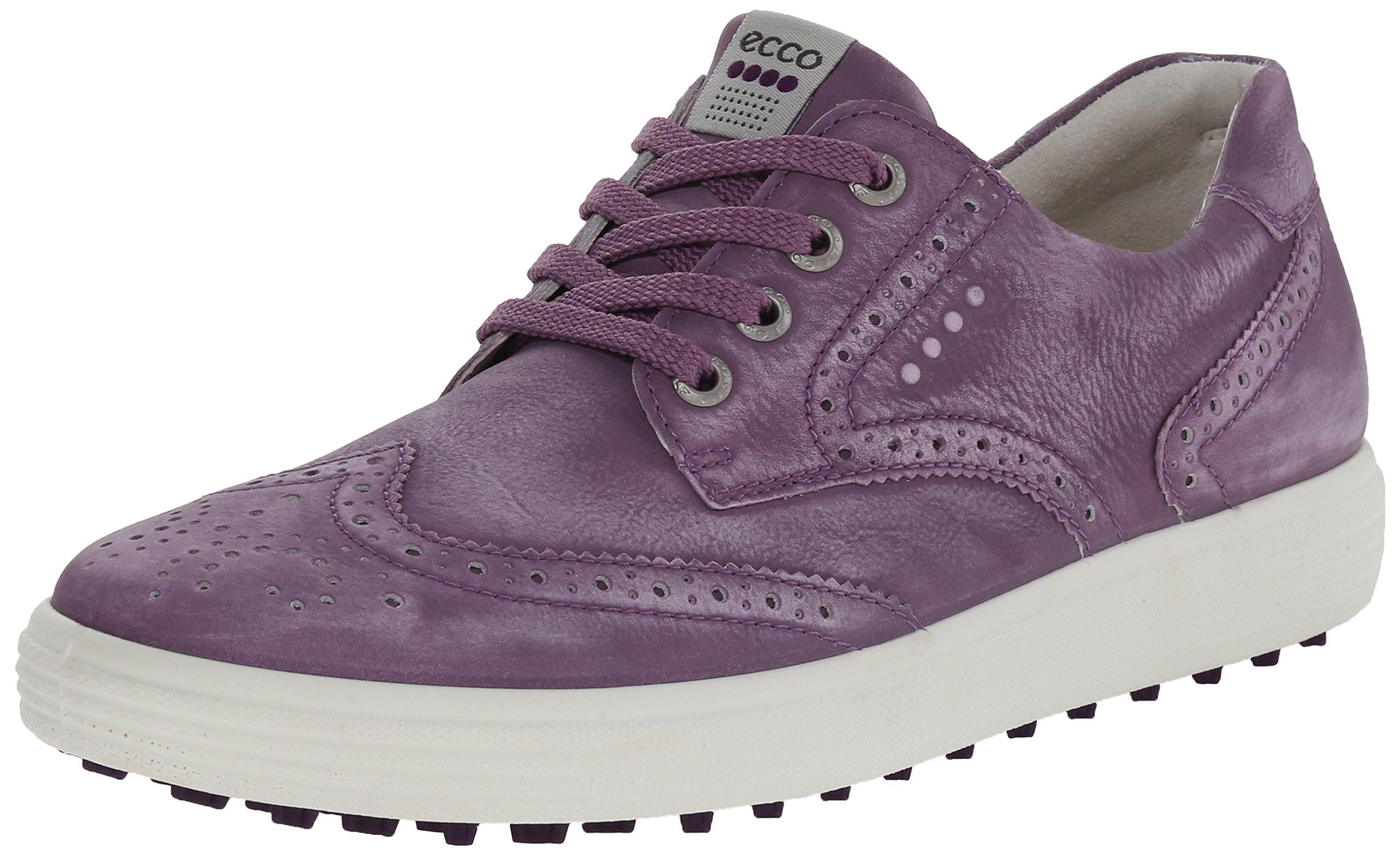 ECCO Women's Casual Hybrid Golf Shoe, Grape, 39 EU/8-8.5 M US