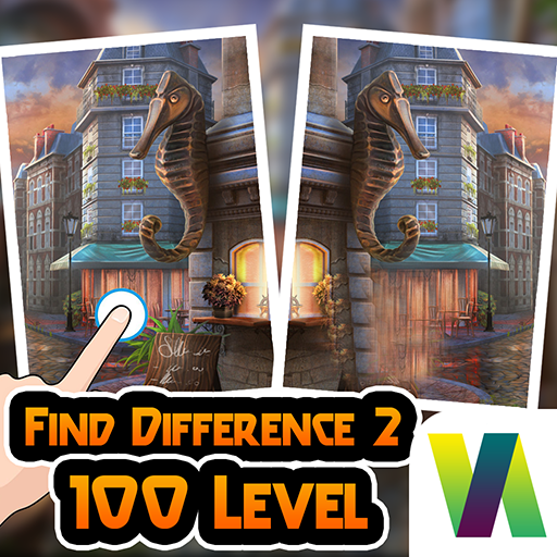 Find Difference 100 Level Challange : Spot Difference - The Com Spot