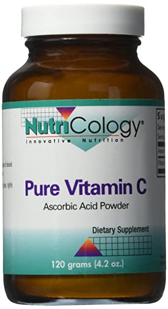 Nutricology Pure Vitamin C, Powder, 120 Grams