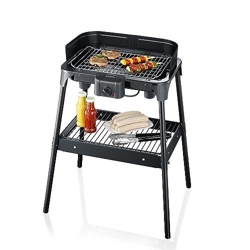 SEVERIN PG 2792 Barbecue-Standgrill 2500W Grillfläche 41x26cm schwarz