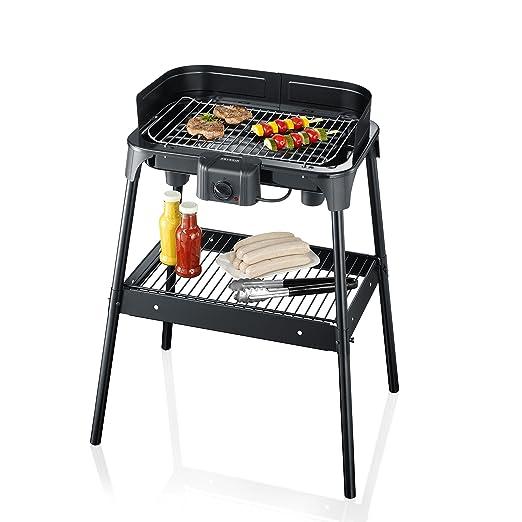 113 opinioni per Severin PG 2792 Barbecue-Grill 2500W Nero