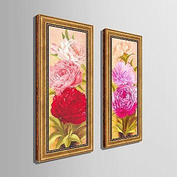 CinCin Moderne Mode Aus Massivem Holz Canvas Wasserdicht Ölgemälde  Dekorative Malerei Halle Wohn Zimmer Schlafzimmer