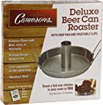 Beer Can Roaster - Stainless Steel Chicken Beeroaster Deluxe with Recipe