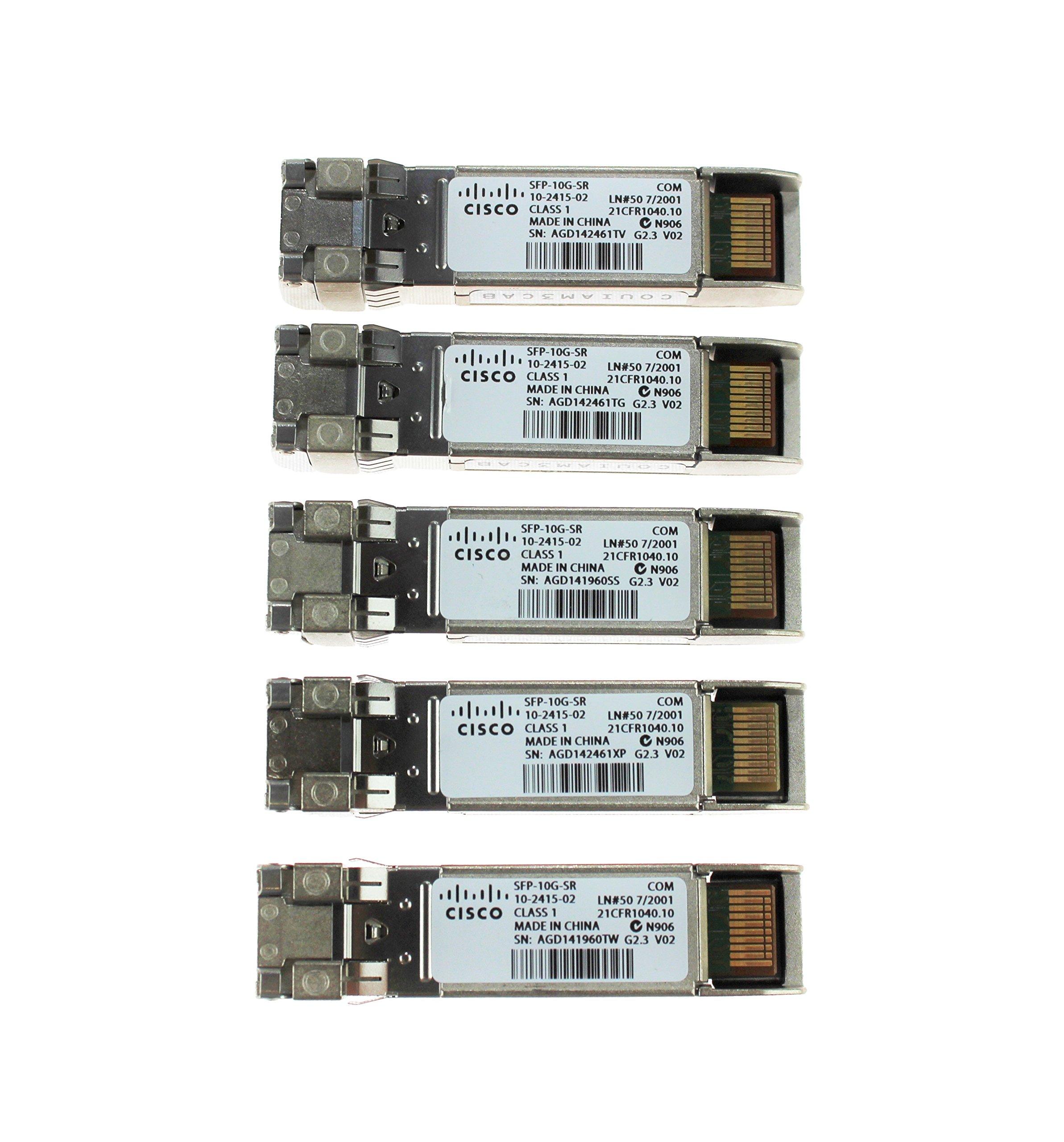 Cisco SFP-10G-SR 10GBase-SR SFP+ Transceiver