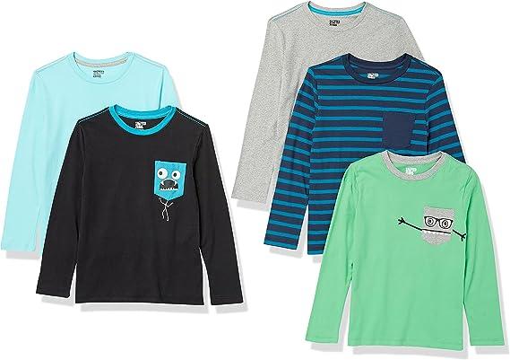 Spotted Zebra Boys' Long-Sleeve T-Shirts