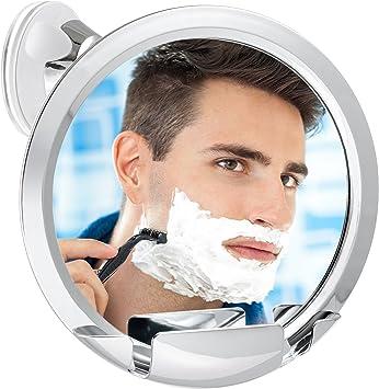 Fog Free Mirror For Shower Fogless Shaving Bathroom Non Shatter Large Clear View