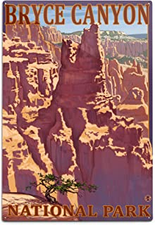 product image for Lantern Press Bryce Canyon National Park, Utah - Scene #1 20905 (6x9 Aluminum Wall Sign, Wall Decor Ready to Hang)