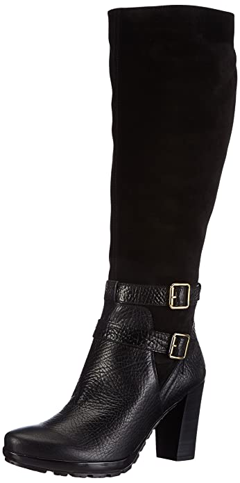 brand new 8dc16 436d4 Hispanitas Arizona, Womens Boots, Black (Reno Negro/Crosta ...