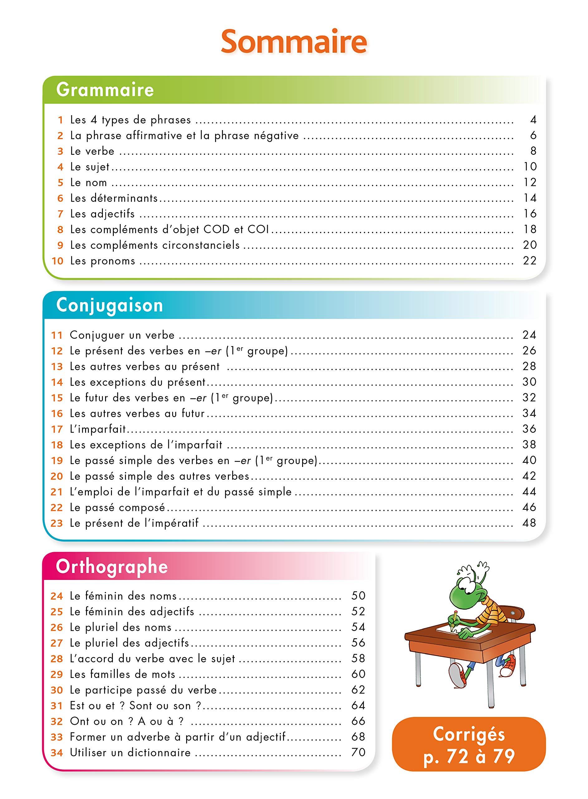 Pour Comprendre Français CM1-CM2 - Spécial DYS Les cahiers de la collection