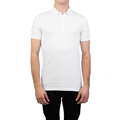 a9e831964 Amazon.com  Versace Collection Men s Cotton Pique Medusa Polo Shirt ...