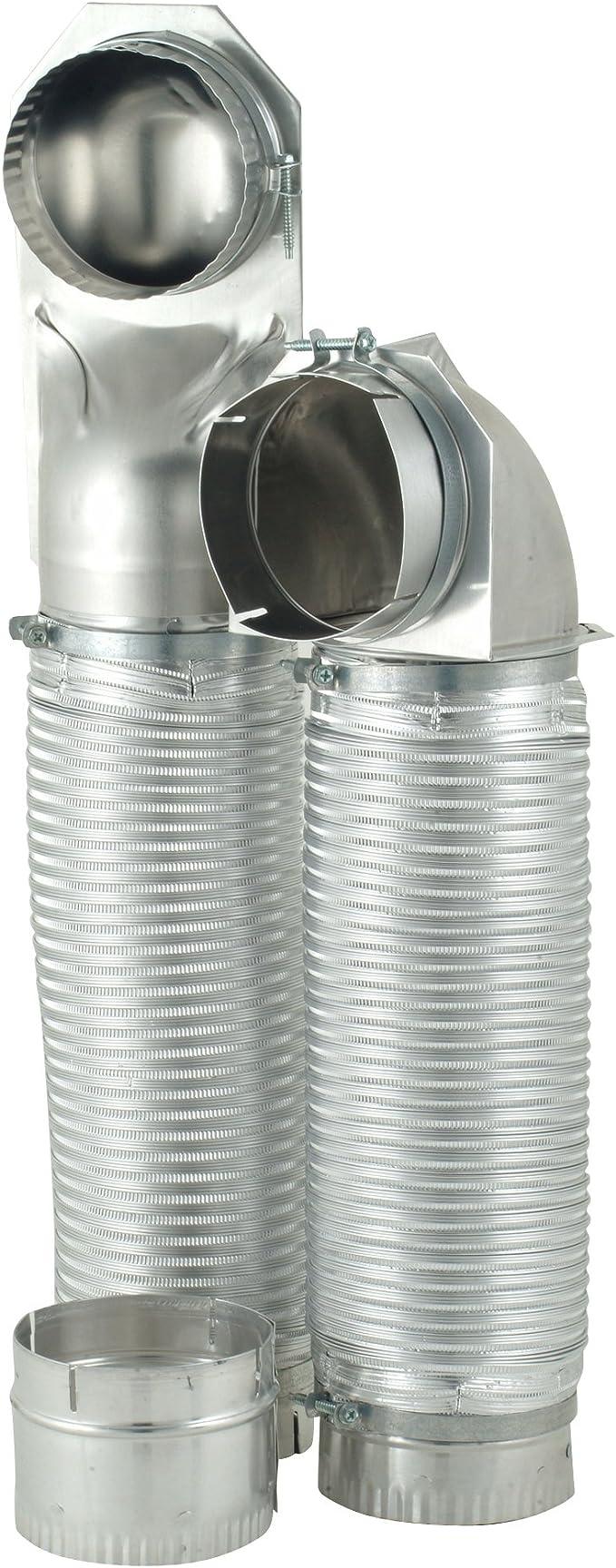 Renewed Whirlpool 4396013RB Dura Vent Installer Kit for Dryers