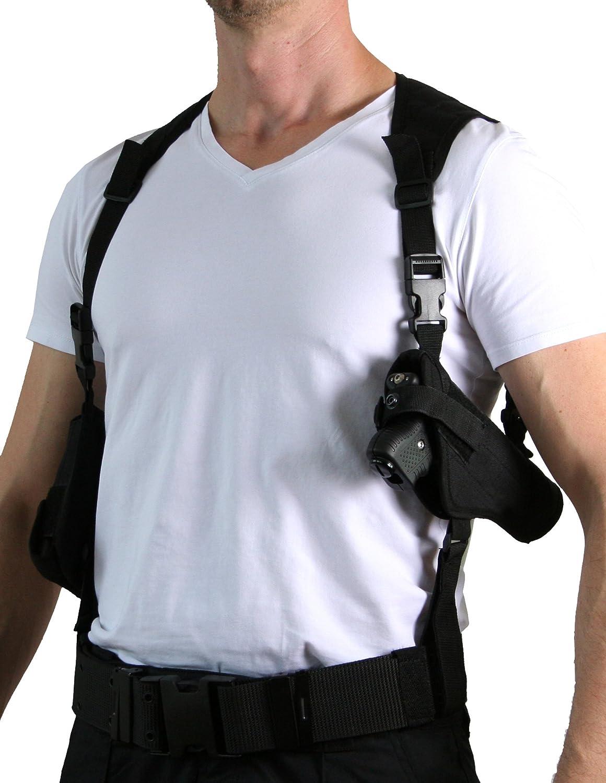 PRODEF® Schulterholster mit 2-Fach Kartuschenhalter für PIEXON Jet Protector JPX