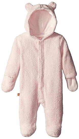 12318980b Magnificent Baby Baby Girls  Pink Icing Hooded Fleece Pram