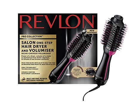 Cepillo Revlon Pro Collection 2 en 1 para secar y dar volumen, RVDR5222: Amazon.es: Salud y cuidado personal