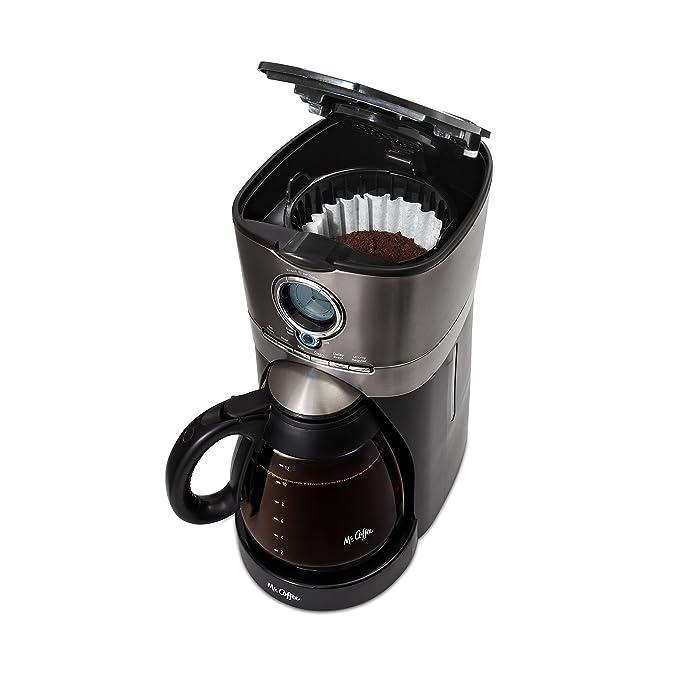 Amazon.com: Mr. Coffee BVMC-VMX38-DS - Cafetera (acero ...