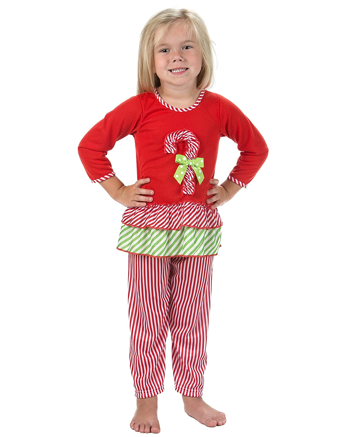 Laura Dare Little Girls Magical Dots Long Sleeve Pajamas