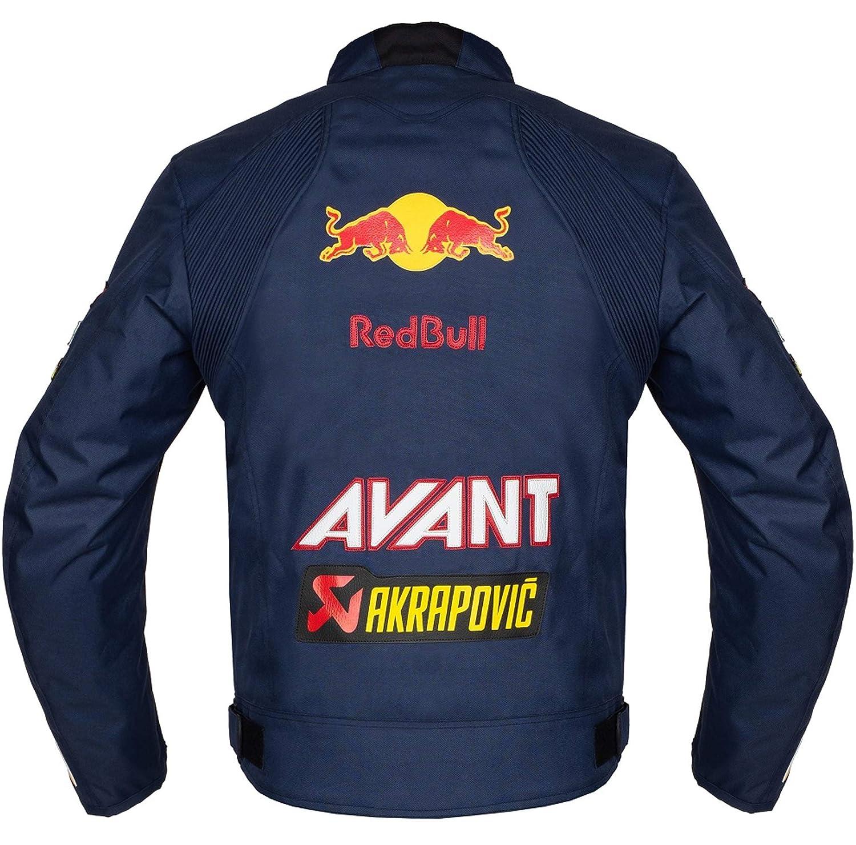 Amazon.com: RedBull Textile Racing Motorcycle Jacket (XL ...