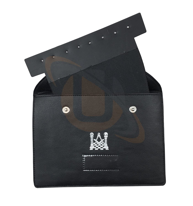 Masonic Regalia Jewel Holder/Wallet masonic carry case XL Single Card MC052