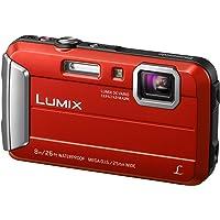 Panasonic LUMIX DMC-FT30EG-R kamera zewnętrzna (16,1 MP, 4 x zoom optyczny, wyświetlacz LCD 2,6 cala, wodoszczelny do 8…