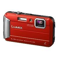 """Panasonic Lumix DMC-FT30 Compact camera 16.1MP 1/2.33"""" CCD 4608 x 3456pixels Red - Digital Cameras (16.1 MP, 4608 x 3456 pixels, CCD, 4x, HD, Red)"""