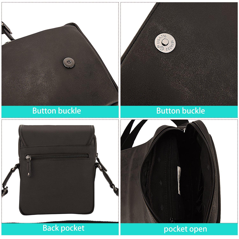 a4752a4653 LEE COOPER - sac bandoulière homme - sac besace - sacoche à porter épaule -  noir: Amazon.fr: Bagages