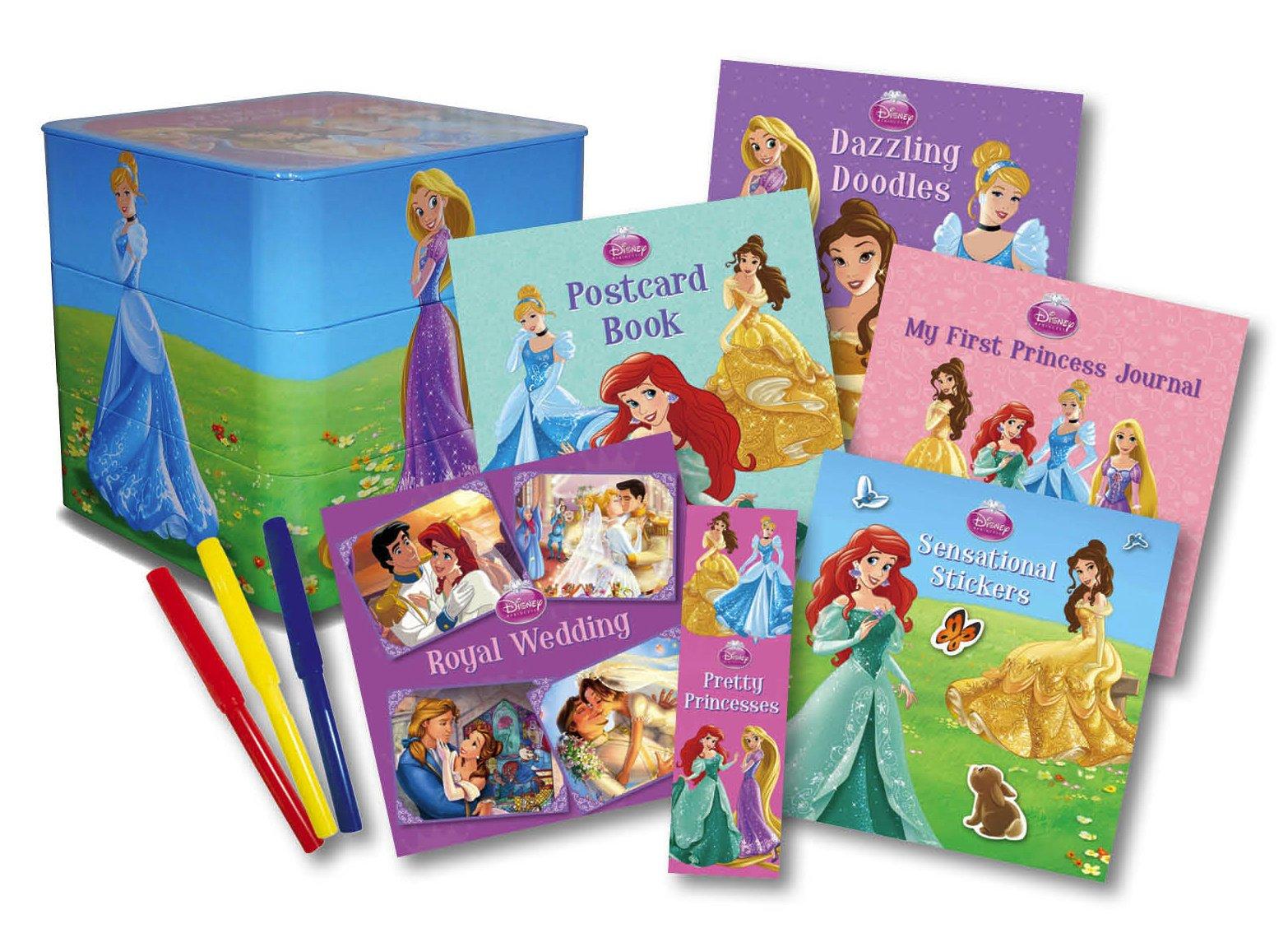 Disney Princess: Pretty Princesses a Stackable Book Surprise (Activity Box Set) PDF