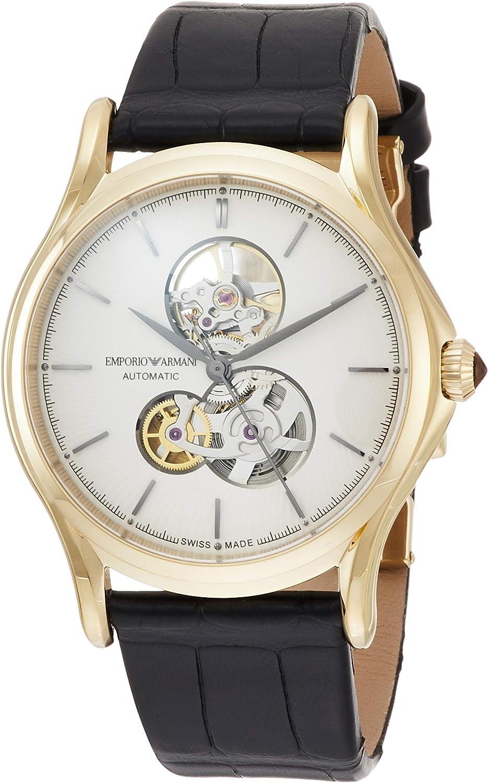 [エンポリオアルマーニ] 腕時計 CLASSIC ROUND SEMI SKELETON ARS3402 メンズ