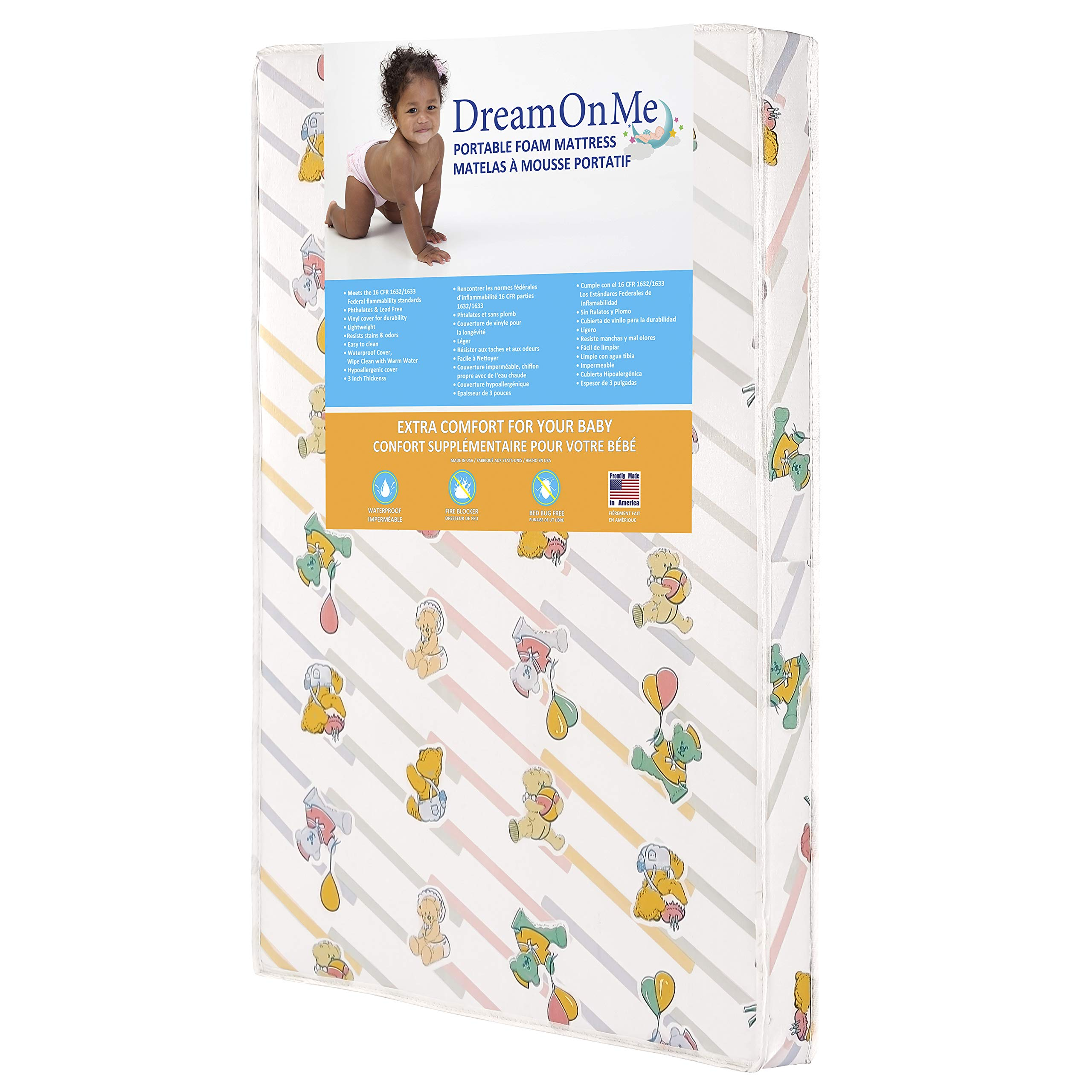 Dream on Me Play Yard Mattress, Ultra Lite by Dream On Me