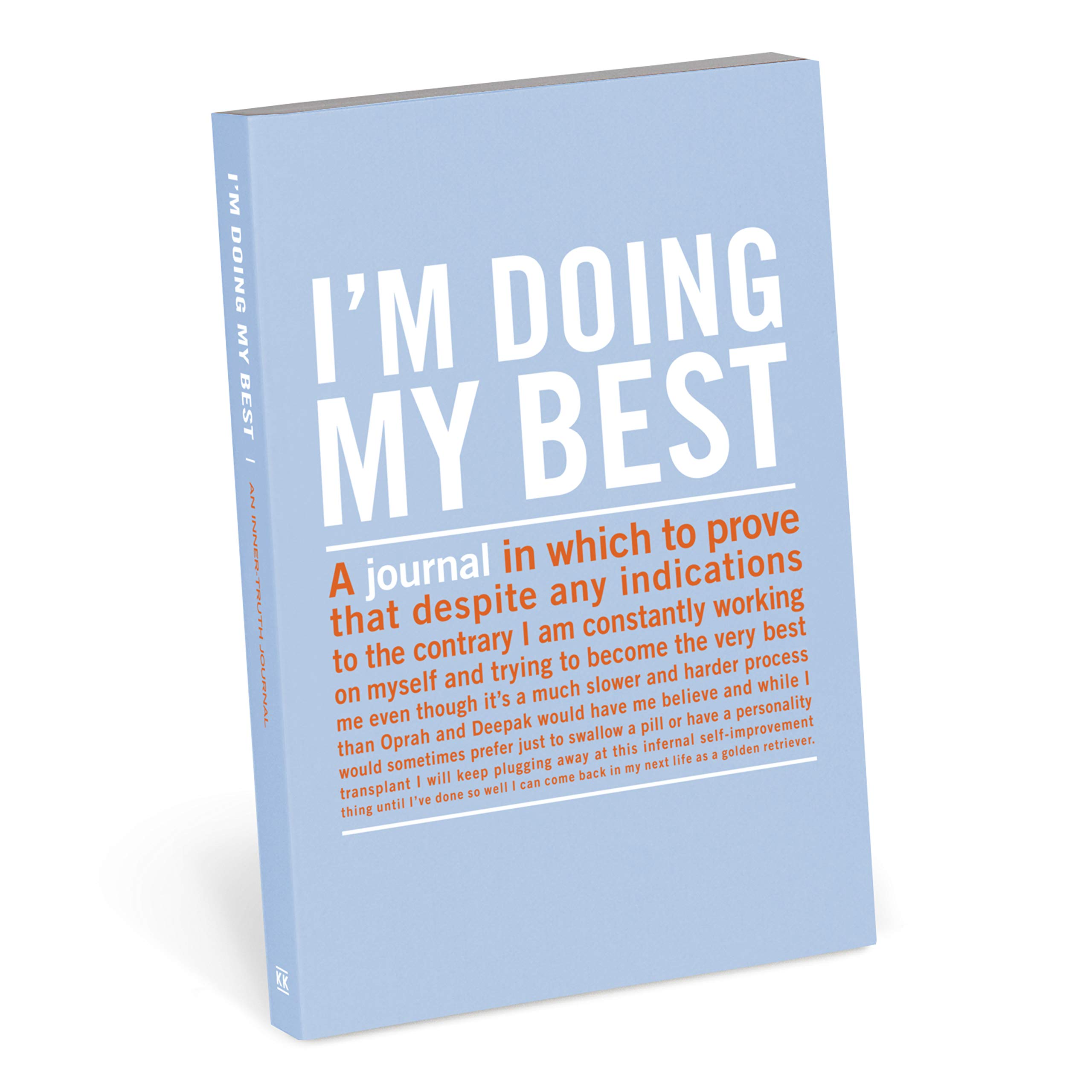 Knock Knock I'm Doing My Best Inner-Truth Journal (Small, 4 x 5.75-inches) by Knock Knock