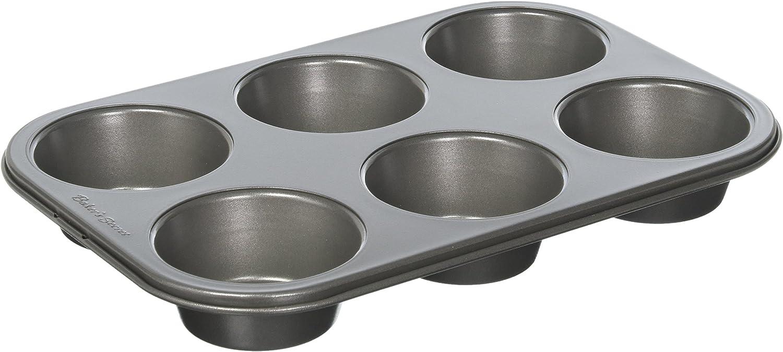 Bakers Secret Basics Premium Nonstick 6-Cup Muffin Pan BAKER/'S SECRET B000PADZ7U