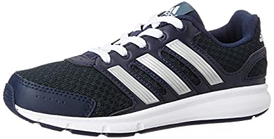 491a175af6b Adidas Unisex Lk Sport K Blue and Grey Mesh Sneakers - 10 Kids UK/India