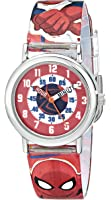 "Marvel Kids' SPMKQ500 ""Spider-Man Time Teacher"" Watch"