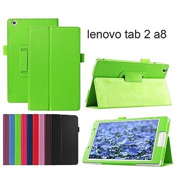 Amazon.com: asng Lenovo Tab2 A8/Tab3 8 funda – Premium (piel ...