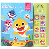 PINKFONG 150480 Baby Shark Official Sound Book,Yellow