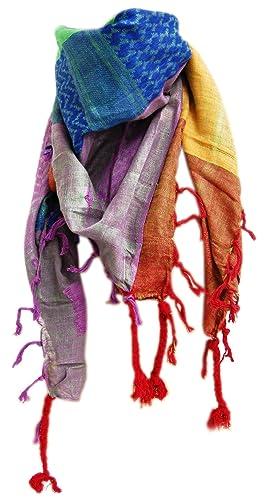 Palestina bufanda–Shemagh Rainbow
