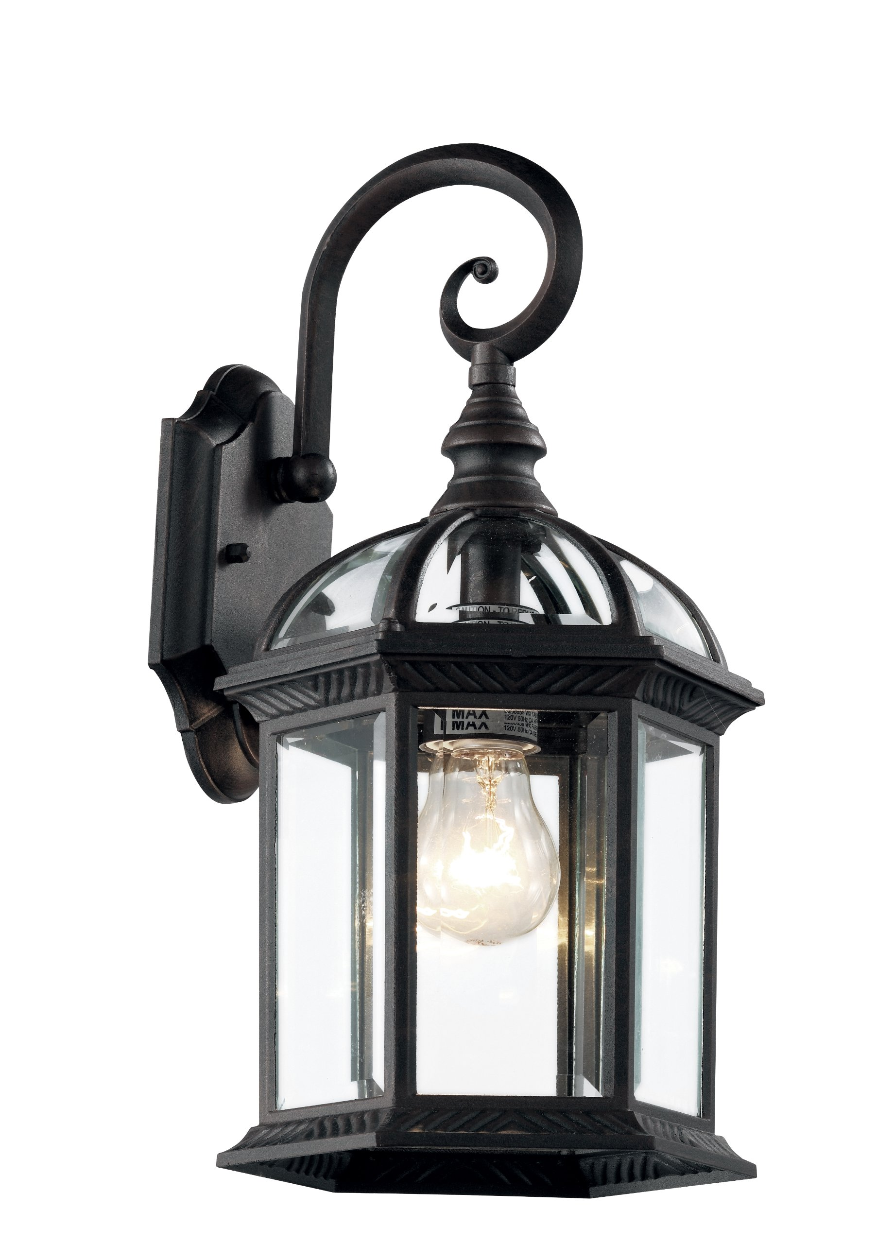 Trans Globe Lighting 4181 BK Outdoor Wentworth 16'' Wall Lantern, Black by Trans Globe Lighting