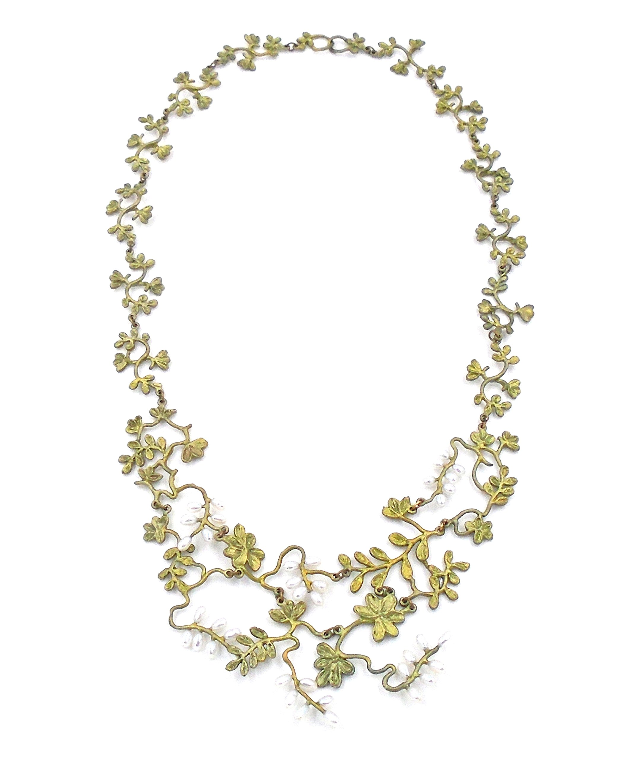 ''Carolina Lace'' Necklace By Michael Michaud (OURS EXCLUSIVELY) for Silver Seasons…