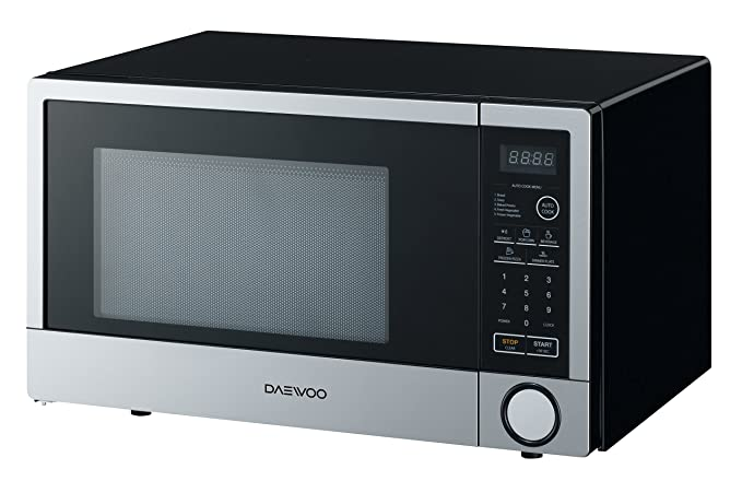Amazon.com: Daewoo – 1.1 CU. FT. Mid-Size Microondas – Acero ...