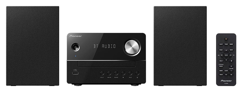 Pioneer X-EM26-B con Bluetooth Radio FM y USB Frontal Sistema Micro