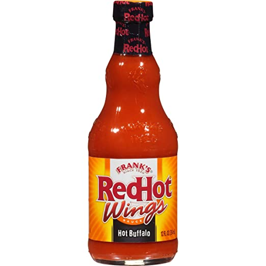 Frank's RedHot Hot Buffalo Wings Sauce, 12 fl oz